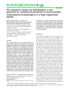 Scholarly article on topic 'The sequence capture by hybridization: a new approach for revealing the potential of mono-aromatic hydrocarbons bioattenuation in a deep oligotrophic aquifer'