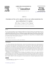 Scholarly article on topic 'Evaluation of the cyclic capacity of low-cost carbon adsorbents for post-combustion CO2 capture'