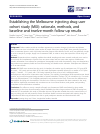 Scholarly article on topic 'Establishing the Melbourne injecting drug user cohort study (MIX): rationale, methods, and baseline and twelve-month follow-up results'