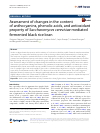 Scholarly article on topic 'Assessment of changes in the content of anthocyanins, phenolic acids, and antioxidant property of Saccharomyces cerevisiae mediated fermented black rice bran'
