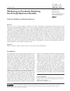 Scholarly article on topic 'Mothering on Facebook: Exploring the Privacy/Openness Paradox'