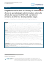 Scholarly article on topic 'Progesterone elevation on the day of human chorionic gonadotropin administration adversely affects the outcome of IVF with transferred embryos at different developmental stages'