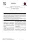 Scholarly article on topic 'Sustainable Supplier Selection in Medical Device Industry: Toward Sustainable Manufacturing'