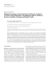 Scholarly article on topic 'Bilingual Language Control and General Purpose Cognitive Control among Individuals with Bilingual Aphasia: Evidence Based on Negative Priming and Flanker Tasks'