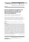Scholarly article on topic 'Exercise Training Protects Against Acute Myocardial Infarction via Improving Myocardial Energy Metabolism and Mitochondrial Biogenesis'