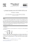 Scholarly article on topic 'Family Symmetry from SUSY GUTs in 6d'