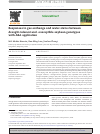 Scholarly article on topic 'Responses in gas exchange and water status between drought-tolerant and -susceptible soybean genotypes with ABA application'