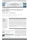 Scholarly article on topic 'Energy efficient structure-free data aggregation and delivery in WSN'