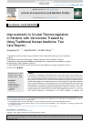 Scholarly article on topic 'Improvements in Scrotal Thermoregulation in Patients with Varicoceles Treated by Using Traditional Korean Medicine: Two Case Reports'