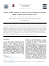 Scholarly article on topic 'Tailoring thermal properties via synergistic effect in a multifunctional phase change composite based on methyl stearate'