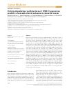 Protein phosphatase methylesterase-1 (PME-1) expression