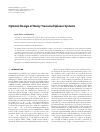 Scholarly article on topic 'Optimal Design of Noisy Transmultiplexer Systems'