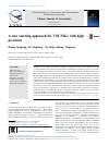 Scholarly article on topic 'A new steering approach for VSCMGs with high precision'