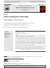 Scholarly article on topic 'Modern management of thin lining'