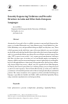 Scholarly article on topic 'Sonority Sequencing Violations and Prosodic Structure in Latin and Other Indo-European Languages'