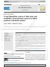 Scholarly article on topic 'Sexual dimorphism, pattern of third molar and mandibular second premolar agenesis in Indian paediatric orthodontic patients'