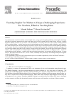 Scholarly article on topic 'Teaching English To Children: A Unique, Challenging Experience For Teachers, Effective Teaching Ideas'