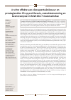 Scholarly article on topic '<i>In vitro effekte</i> van eikosapentaënöesuur en prostaglandien E3 op proliferasie, osteoklastvorming en beenresorpsie in RAW 264.7 muismakrofae'