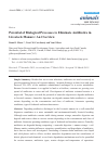 Scholarly article on topic 'Potential of Biological Processes to Eliminate Antibiotics in Livestock Manure: An Overview'