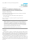 Scholarly article on topic 'Synthesis of N-substituted Acridinediones and Polyhydroquinoline Derivatives in Refluxing Water'