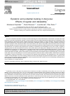Scholarly article on topic 'Epistemic and evidential marking in discourse: Effects of register and debatability'