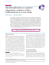 Scholarly article on topic 'Interdisciplinarity as cognitive integration: auditory verbal hallucinations as a case study'