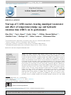 Scholarly article on topic 'Start-up of UASB reactors treating municipal wastewater and effect of temperature/sludge age and hydraulic retention time (HRT) on its performance'