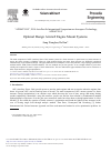 Optimal Design Aircraft Engine Mount Systems – topic of