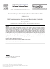 ERP Implementation Success and Knowledge Capability – topic