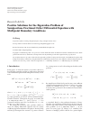 Positive Solutions for the Eigenvalue Problem of