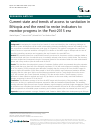 Scholarly article on topic 'Current state and trends of access to sanitation in Ethiopia and the need to revise indicators to monitor progress in the Post-2015 era'