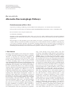 Scholarly article on topic 'Alternative Macroautophagic Pathways'
