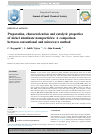 Scholarly article on topic 'Preparation, characterization and catalytic properties of nickel aluminate nanoparticles: A comparison between conventional and microwave method'