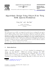 Scholarly article on topic 'Algorithmic Design Using Object-Z for Twig XML Queries Evaluation'
