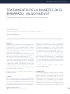 Scholarly article on topic 'TRATAMIENTO DE LA DIABETES EN EL EMBARAZO: ¿ALGO NUEVO?'