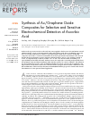 Scholarly article on topic 'Synthesis of Au/Graphene Oxide Composites for Selective and Sensitive Electrochemical Detection of Ascorbic Acid'