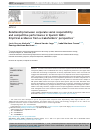 Scholarly article on topic 'Relationship between corporate social responsibility and competitive performance in Spanish SMEs: Empirical evidence from a stakeholders' perspective'