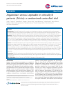 Scholarly article on topic 'Argatroban versus Lepirudin in critically ill patients (ALicia): a randomized controlled trial'