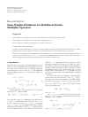 Scholarly article on topic 'Some Weighted Estimates for Multilinear Fourier Multiplier Operators'