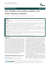 Scholarly article on topic 'How readable are Australian paediatric oral health education materials?'
