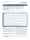 Scholarly article on topic 'Characterizing semen parameters and their association with reactive oxygen species in infertile men'