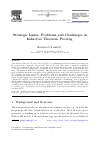 Scholarly article on topic 'Strategic Issues, Problems and Challenges in Inductive Theorem Proving'