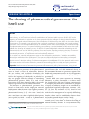 Scholarly article on topic 'The shaping of pharmaceutical governance: the Israeli case'
