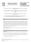 Scholarly article on topic 'An Algorithm for Supply Chain Integration based on OTSM-TRIZ'