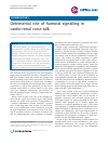 Scholarly article on topic 'Detrimental role of humoral signalling in cardio-renal cross-talk'