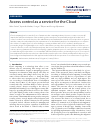 Scholarly article on topic 'Access control as a service for the Cloud'