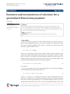 Scholarly article on topic 'Existence and nonexistence of solutions for a generalized Boussinesq equation'