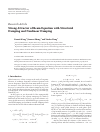 Scholarly article on topic 'Strong Attractor of Beam Equation with Structural Damping and Nonlinear Damping'
