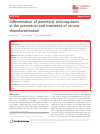 Scholarly article on topic 'Differentiation of parenteral anticoagulants in the prevention and treatment of venous thromboembolism'