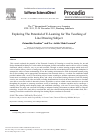 Scholarly article on topic 'Exploring The Potential of E-Learning for The Teaching of Line Drawing Subject'